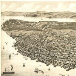 Ruger's Birdseye Map of Halifax, Nova Scotia (1879) - the BIG Map Blog