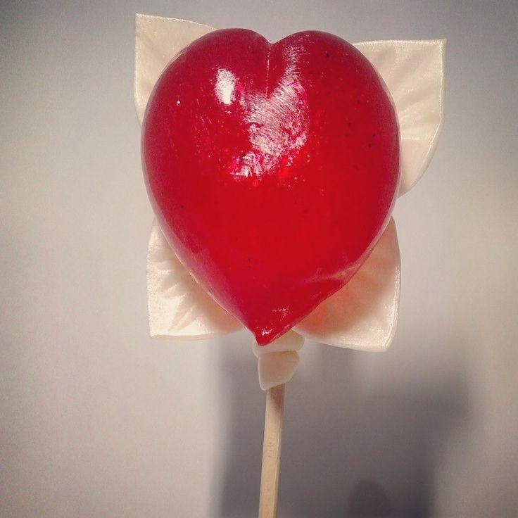 Сердце на палочке