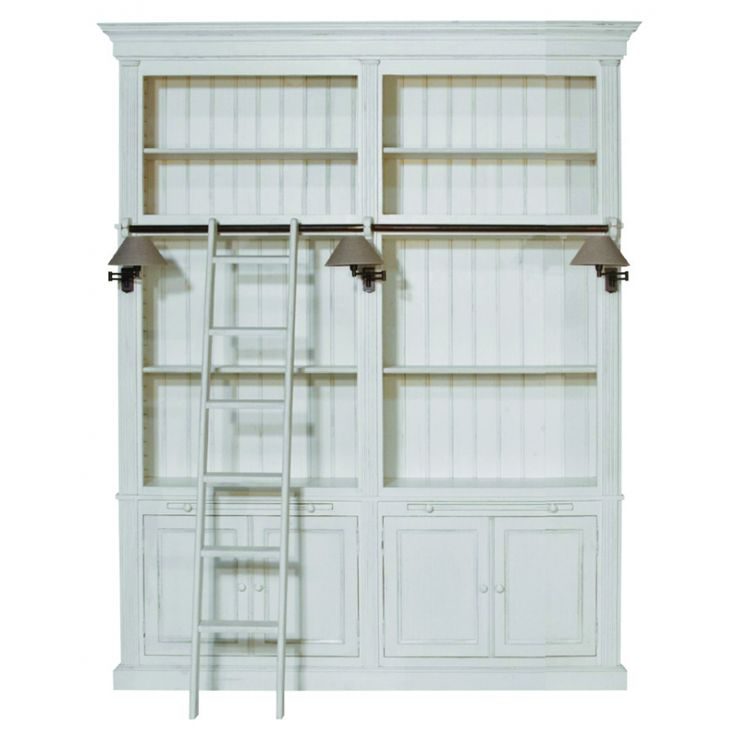 1000 ideas about biblioth que blanche on pinterest bookcases ikea and bri - Echelle bibliotheque ikea ...
