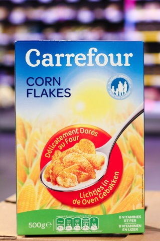 packaging - corn flakes