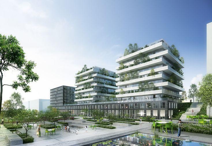 Terrace 9 Housing Complex / Atelier Zündel Cristea