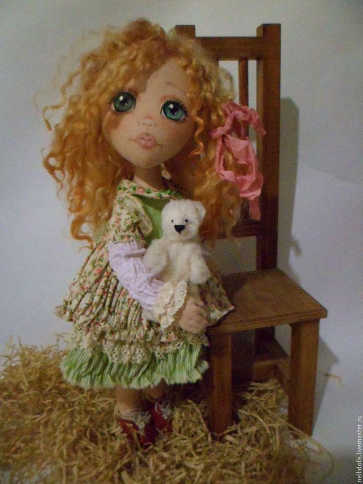Купить Лиля - комбинированный, кукла ручной работы, куклы и игрушки, кукла текстильная, кукла в подарок