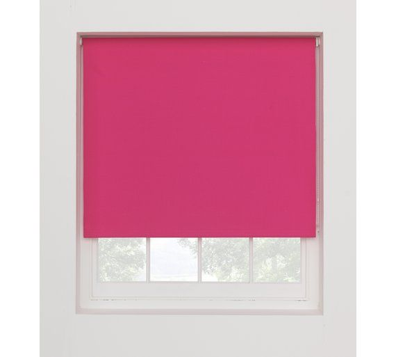 Buy ColourMatch Blackout Thermal Blind - 6ft - Funky Fuchsia at Argos.co.uk, visit Argos.co.uk to shop online for Blinds, Blinds, curtains and accessories, Home furnishings, Home and garden