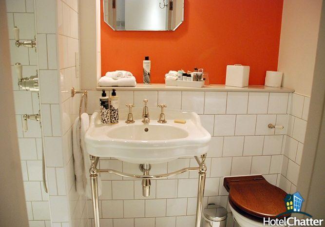 Shoreditch House bathroom