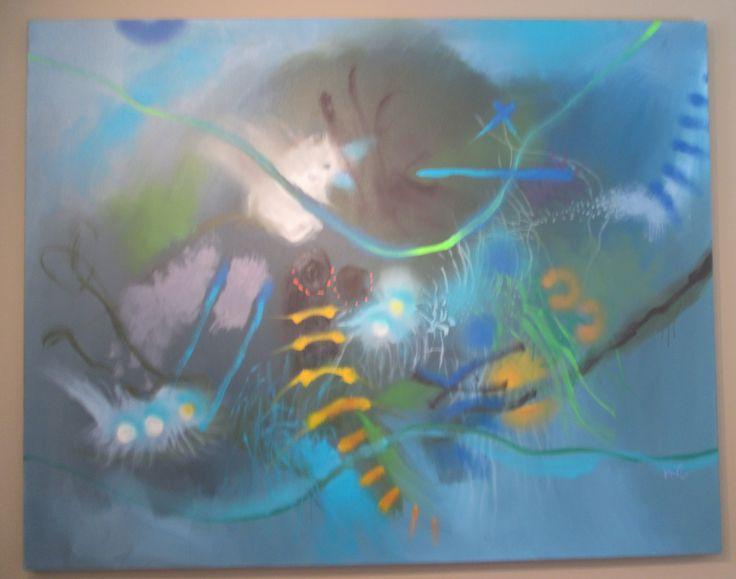Inocencia el mayor tesoro Óleo sobre lienzo 160 x 200 cms 2005  Colección privada