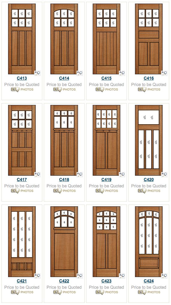 107 best Craftsman Doors & Windows images on Pinterest | Craftsman ...