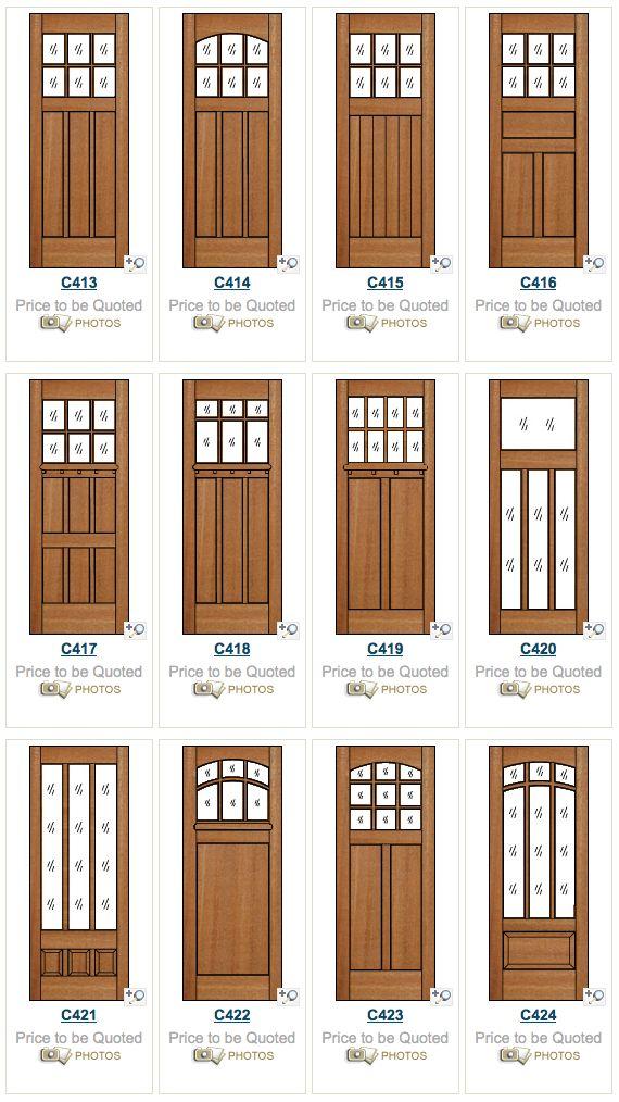 107 best images about craftsman doors  u0026 windows on