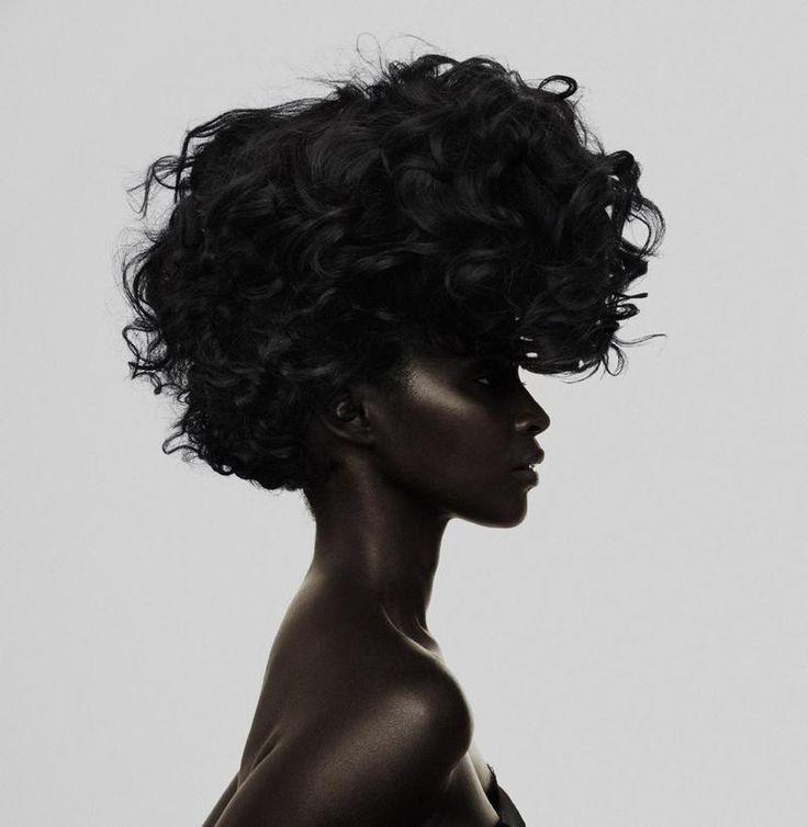 Kiara Kabukuru photographed by Samuli Karala. African models