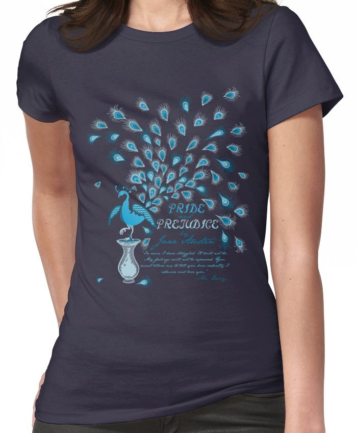 Paisley Peacock Pride and Prejudice: Classic Women's T-Shirt