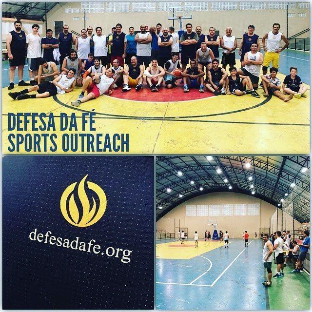 Defesa da Fé Sports Outreach  defesadafe.org  #igreja #mdfe #defesadafe #sports #esportes #esporte #basquetebol #basketball #outreach