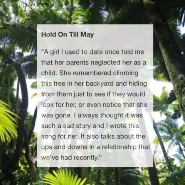 Pierce The Veil - Hold On Till May
