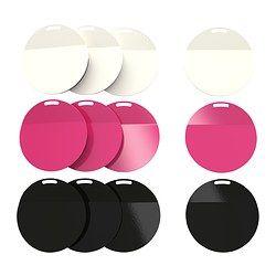 SPONTAN Magnet, versch. Farben Durchmesser: 6 cm Anzahl pro Verpackung: 4 Stück