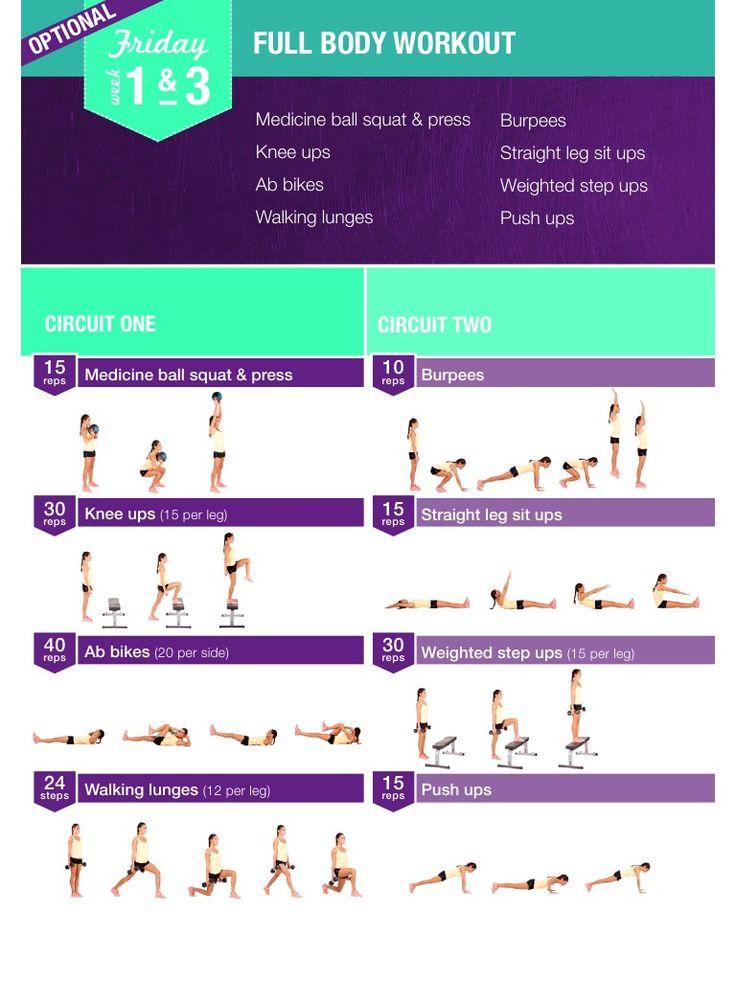 Aper 231 U Du Fichier Kayla Itsines Exercises And Training Plan Pdf Workout Pinterest