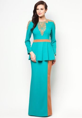 JOVIAN MANDAGIE FOR ZALORA Chantilly Charice Baju Kurung