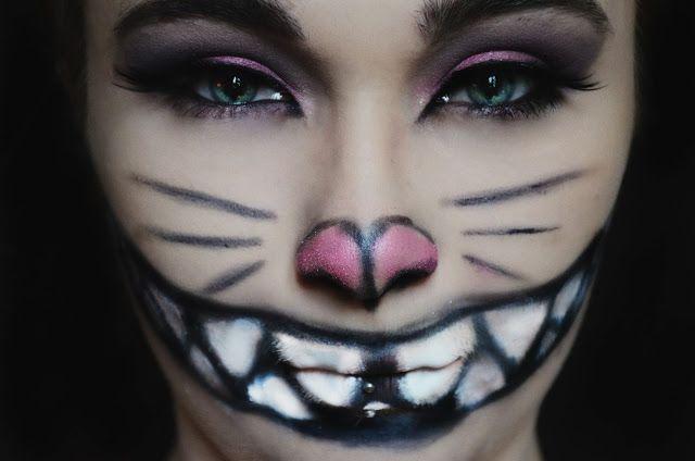 The World Of Lukoum: Maquillage d'Halloween : Chester d'Alice au pays des merveilles