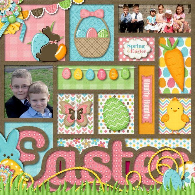 Layout: Easter