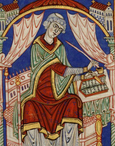 La vie de saint Amand. Valenciennes, BM 501.