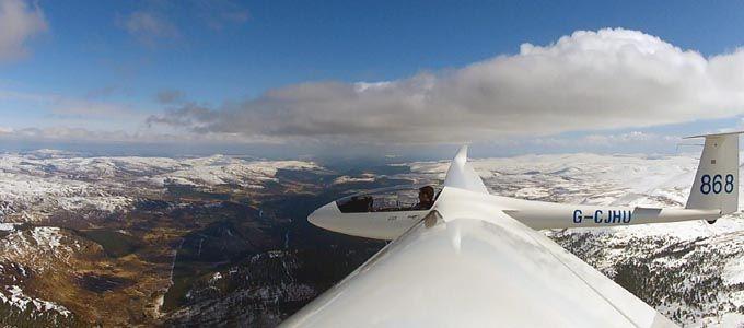 Segelfliegen in Schottland
