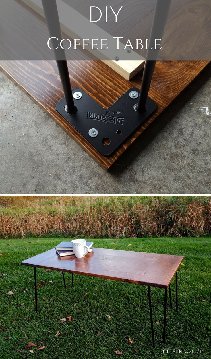 DIY Rustic Industrial Coffee Table | Build Your Own Coffee Table With These  Free Plans From