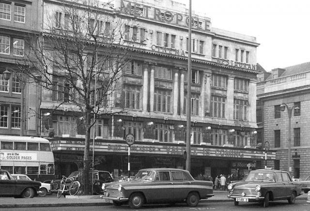 The Metropole Cinema, O'Connell Street, 1971