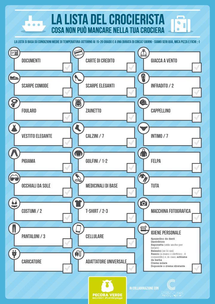 La lista del crocierista