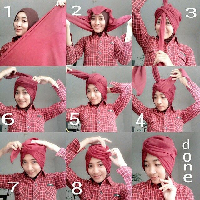Tutorial Hijab By Mayra Hijab: 3 Gambar Tutorial Hijab Segi Empat Pesta
