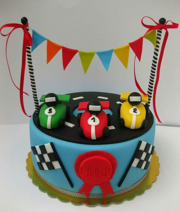 Best Racing Car Cakes Images On Pinterest Racing Car Cakes
