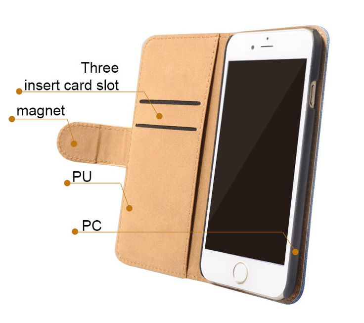mobile phone case with card slot and wallet.