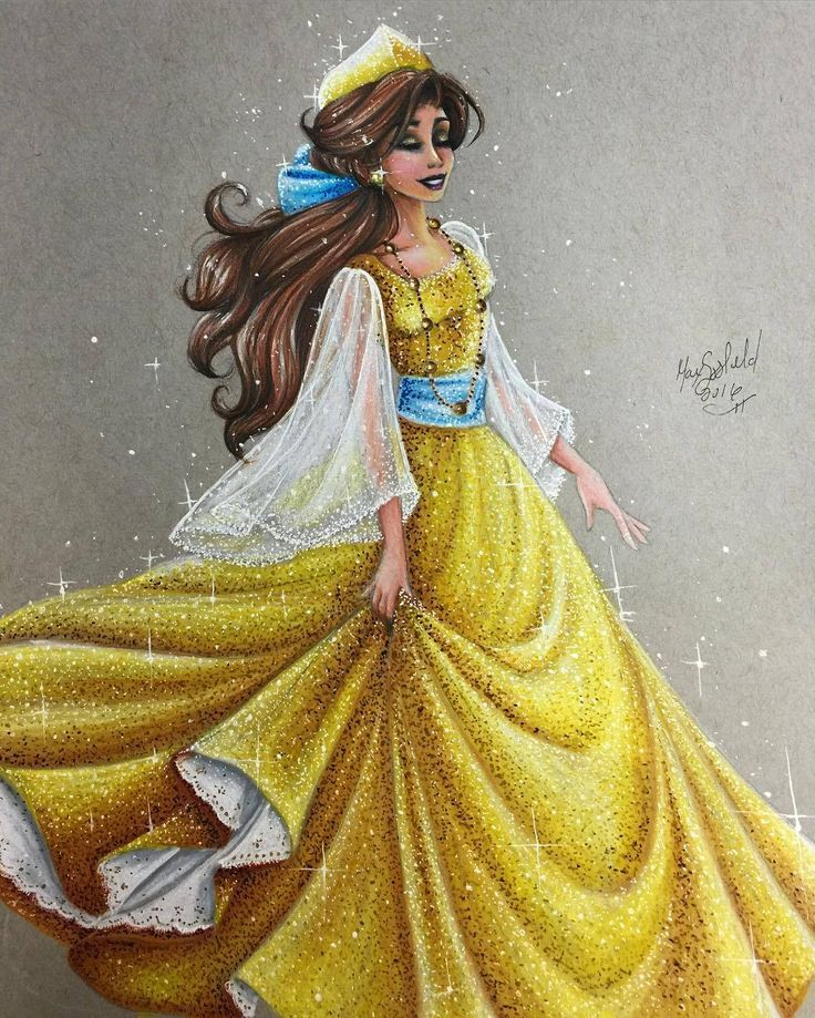 Anastasia - Disney Princess Drawings by Max Stephen  (Not technically disney I know)