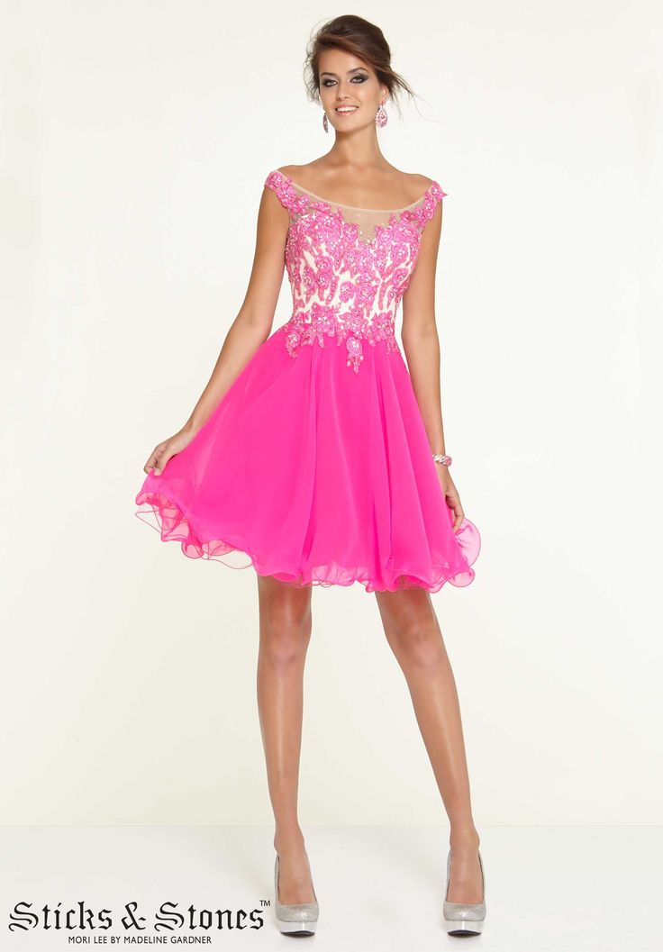 7 best Homecoming Peaches and Pinks images on Pinterest | Evening ...