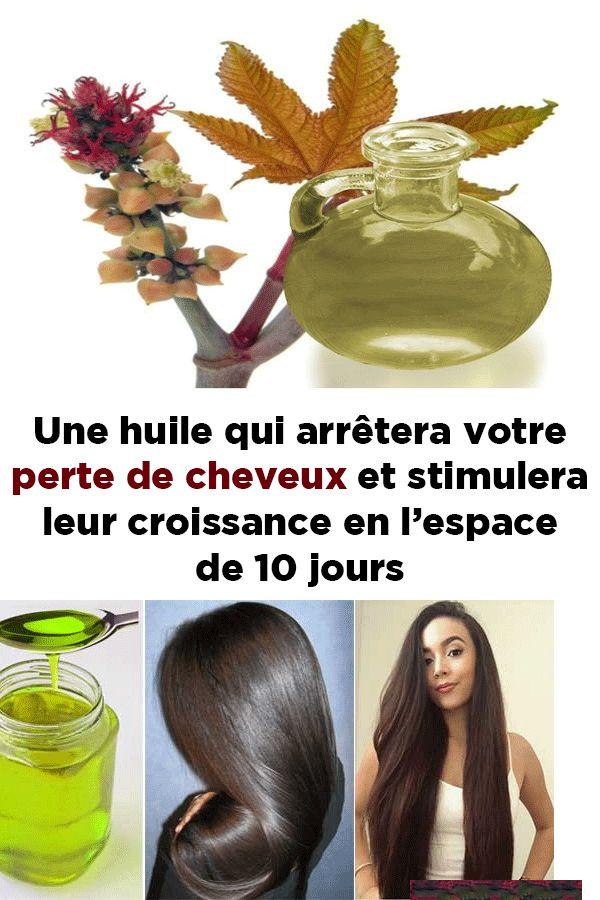 Une huile qui arrêtera votre perte de cheveux et stimulera leur croissance en l'espace de 10 jours !!