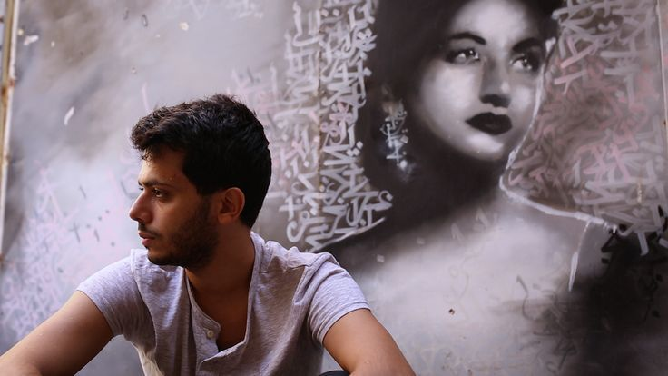 awesome That is Yazan Halwani. Utilizing the partitions of Beirut, he combines calligraphy and st...