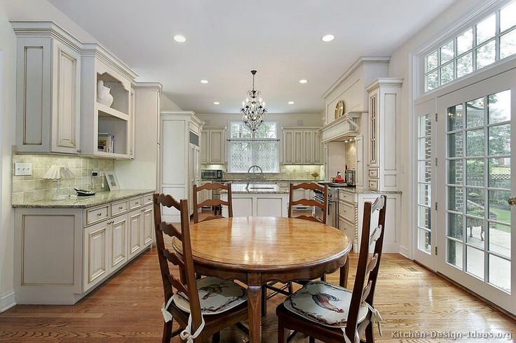 #Kitchen Idea of the Day: Traditional Kitchens.