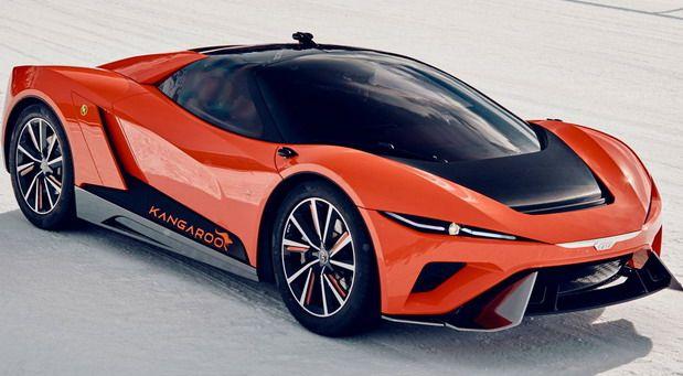 Gfg Style Kangaroo Concept Concept Cars Super Cars Lamborghini