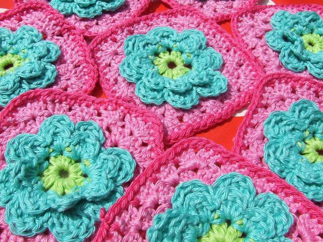 Petite Fee: Patroon Bloem Granny (Flower Granny)