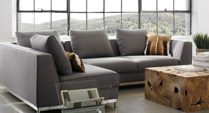 Canap mehdy maison corbeil salon pinterest couch grey and products for Maison corbeil chaise bercante