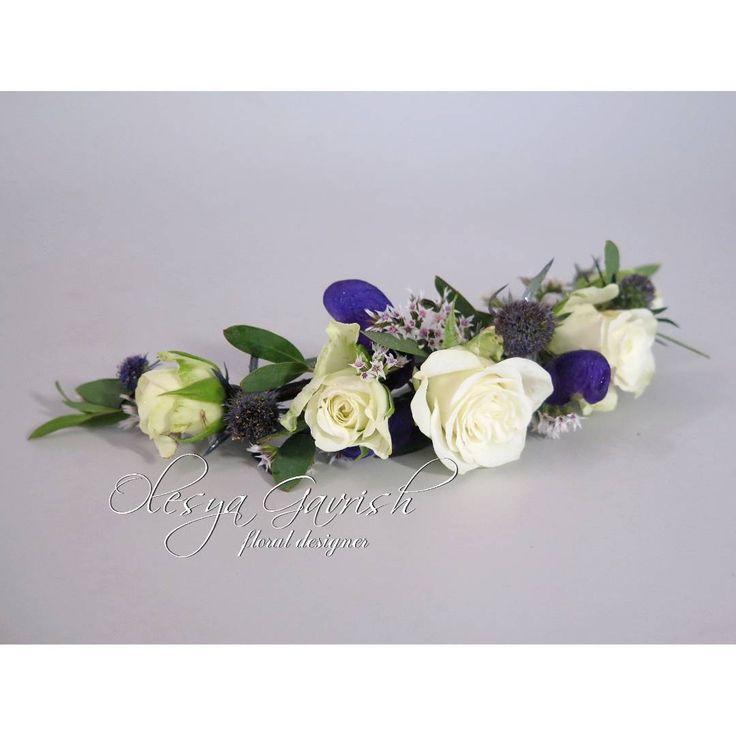Кружевной сине-белый свадебный букет с гортензией, нерине и ковылём.  В комплекте бутоньерка и заколка из живых цветов.  #olesyagavrishflowers #wedding #weddingideas #instawedding #weddingday #свадебнаяфлористика #флористическаязаколка #floralcrown #бутоньерка #buttonhole  #Лобня #свадьбалобня #свадьбамосква #vscoflowers #followme #inspiration #nevestainfo  #weddinginspiration #flowerstagram #flowerslovers #flowermagic #floweroftheday #эксклюзивнаяфлористика