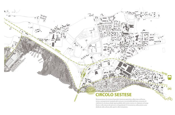 OPERASTUDIO - Project - Cultural and sport center - Varese urban planning #italy #lake #beautiful place