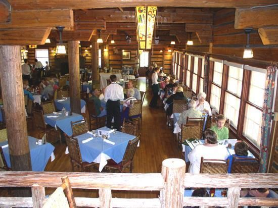 Russell S Fireside Dining Room At Lake Mcdonald Lodge