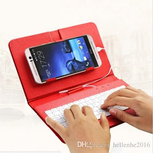Flip PU Leather Phone Case with Kistand OTG Stylish USB Keyboard Durable Stand Cover for Android Phone Samsung HTC LG Huawei Leather Phone Case Keyboard Phone Cover Online with 14.21/Piece on Hellenhe2016's Store | DHgate.com