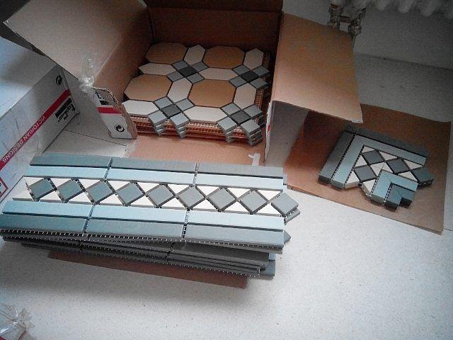 Victorian Geometric Floor Tiles TopCer Belfast. Викторианская метлахская плитка производства Португалии. Фабрика #topcer коллекция Belfast.