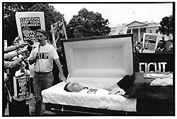 88 Keys: A Media Funeral in the Age of AIDS  (Baltimore City Paper, 1998)