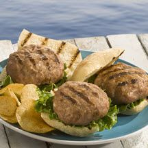 Chesapeake Bay Burgers Chesapeake Bay Burgers These mini turkey burgers pack a big wallop of flavor with the addition of Old Bay® Seasoning. Recipe Ingredients: 1 16-ounce package PERDUE® Fresh Lean Ground Turkey or Fresh Ground Chicken 1/3 cup finely cho http://grilidea.com/best-charcoal-grills/