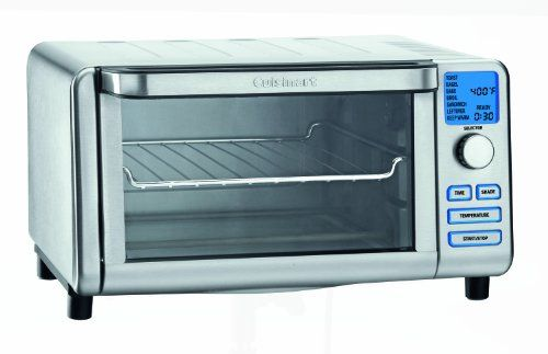 Cuisinart TOB-100 Compact Digital Toaster Oven Broiler | Small Oven Reviews