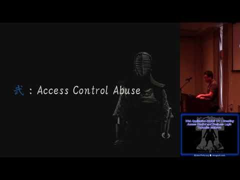 BSides 2016 Web Application Exploit 101 Breaking Access Control and Business Logic Tomohisa Ishikawa