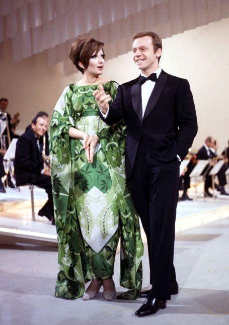 Mina Mazzini  con Johnny Dorelli mb