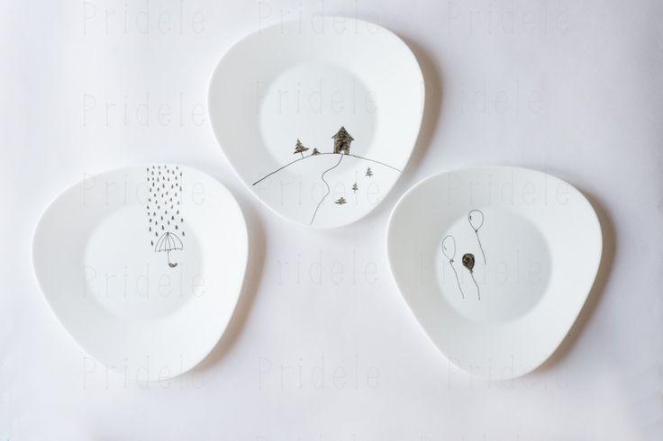 Веселые тарелки