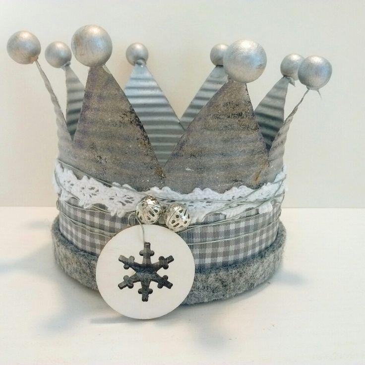 #kaeptnfraune #krone #dose #Blechdose #konservendose #tin #crown #Blikken #kroon #windlicht #Weihnachten #kerstmis #Christmas #upcycling #DIY