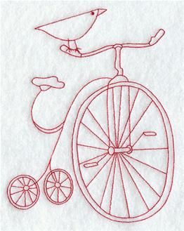 Machine Embroidery Designs at Embroidery Library! - Antiques (Redwork and Vintage)