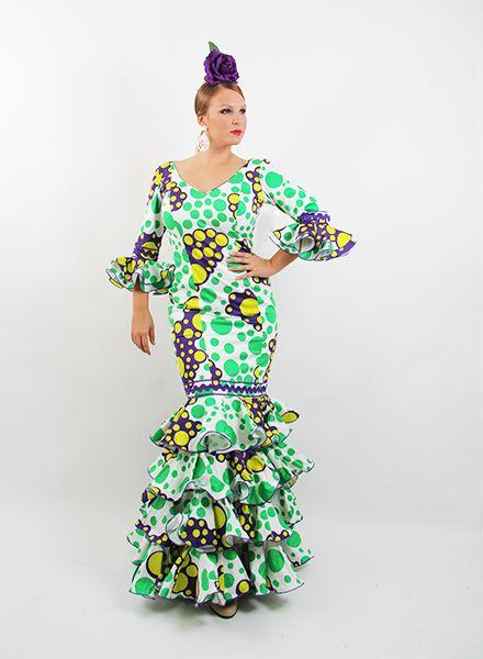 Trajes de gitana oferta desdes 99 € http://www.elrocio.es/41-trajes-de-flamenca-baratos #trajesdeflamenca #trajesdeflamenca2015